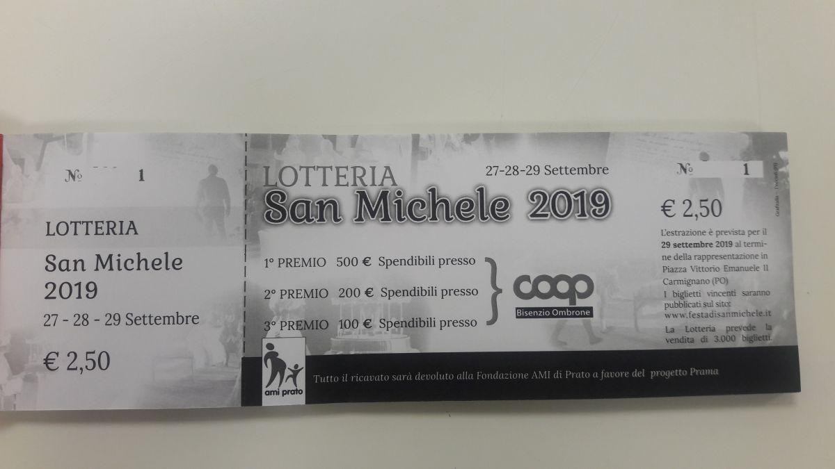 Lotteria San Michele 2019