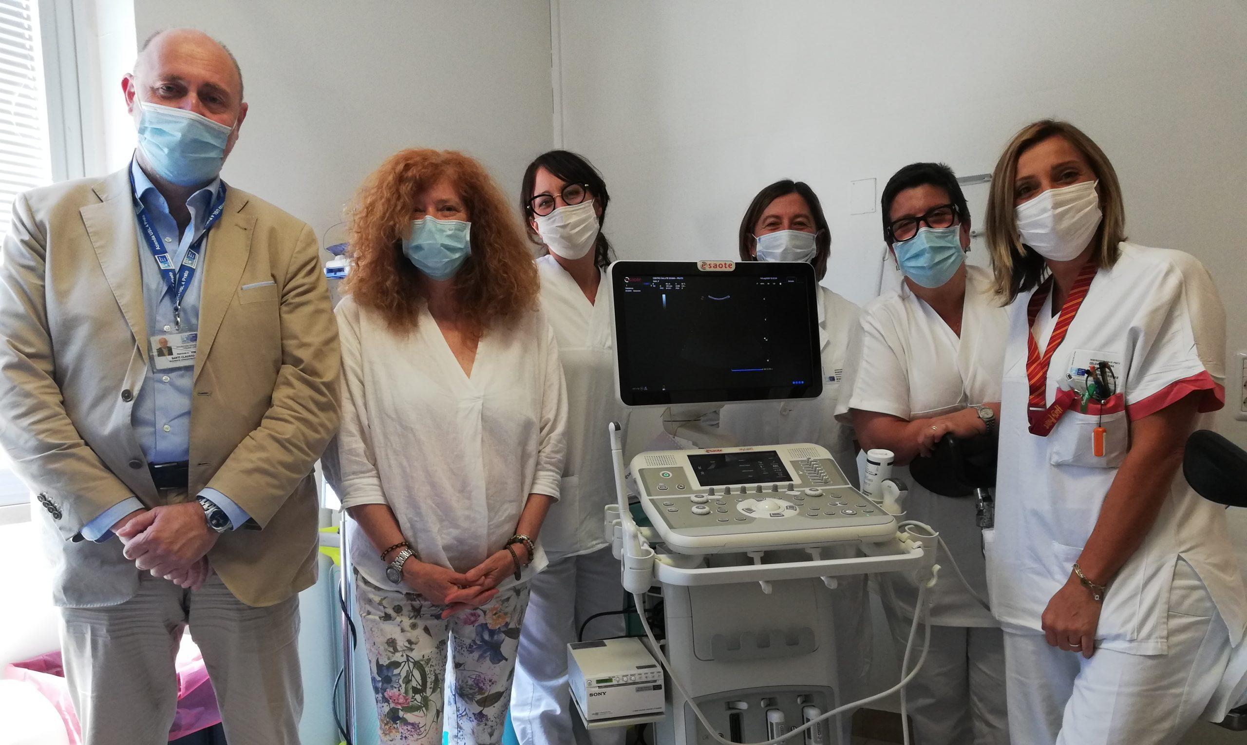 Arrivato l'ecografo ostetrico ginecologico per il Centro Salute Donna