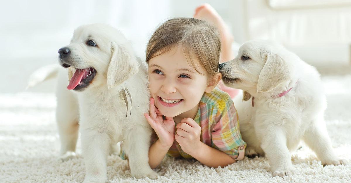 Animali domestici e bambini
